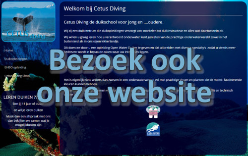 Naar website cetusdiving.nl